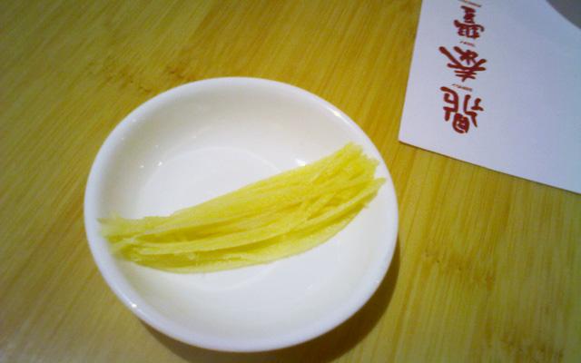 Ginger Qingdao Din Tai Feng