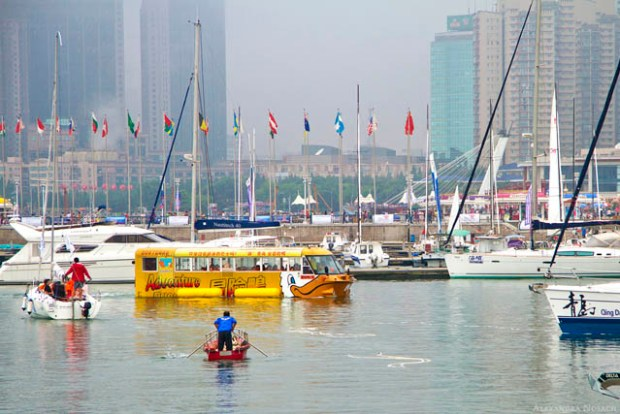 Adventure Duck in Qingdao Olympic Sailing Center