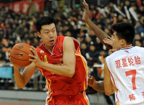 Qingdao Double Star Eagles CBA Basketball Qingdao, China
