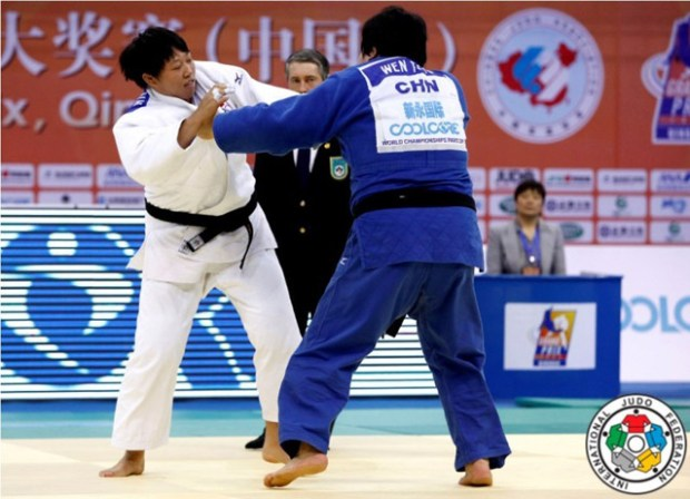 Qingdao Judo Grand Prix 2011 China Tong Wen