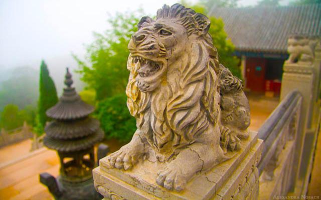 Qingdao Photos Alex Nosach Laoshan Lion