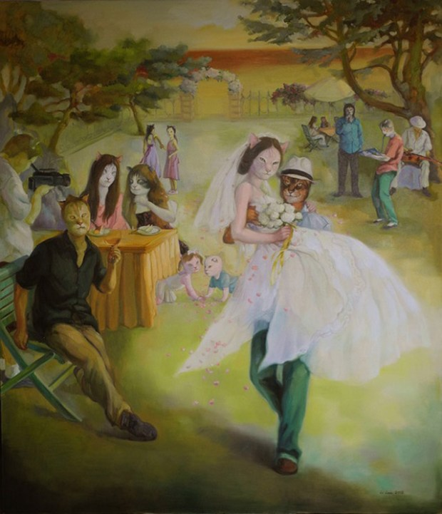 New Youth Art Qingdao Li Lan Marry Me Cat