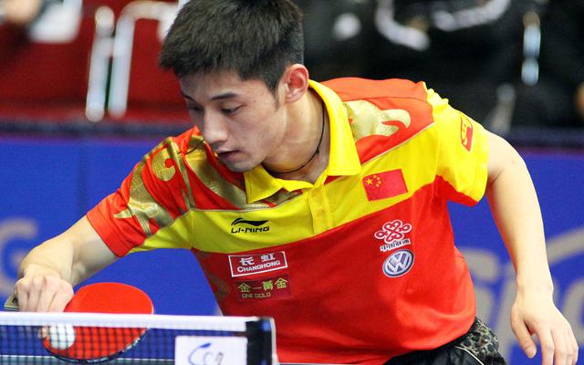 Made in Qingdao Zhang Jike Table Tennis Champion