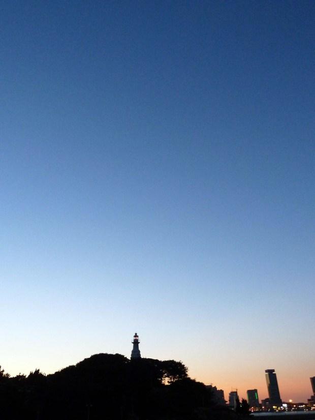 Qingdao Photos Teresa Qingdao Xiao Qingdao Lighthouse Silhouette