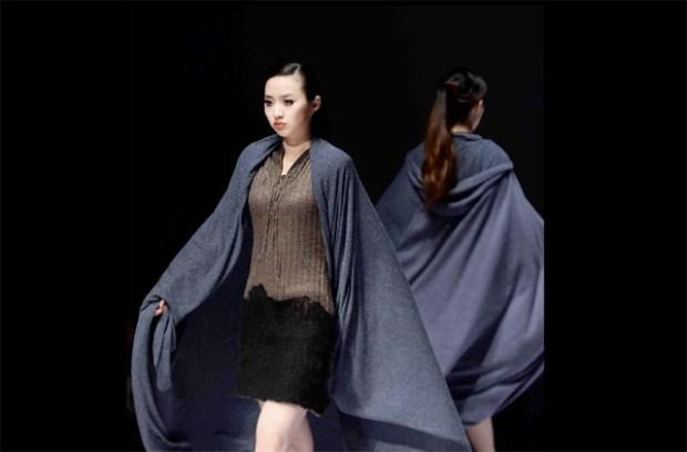 2013 Qingdao International Fashion Week Models Photo www.news.cn