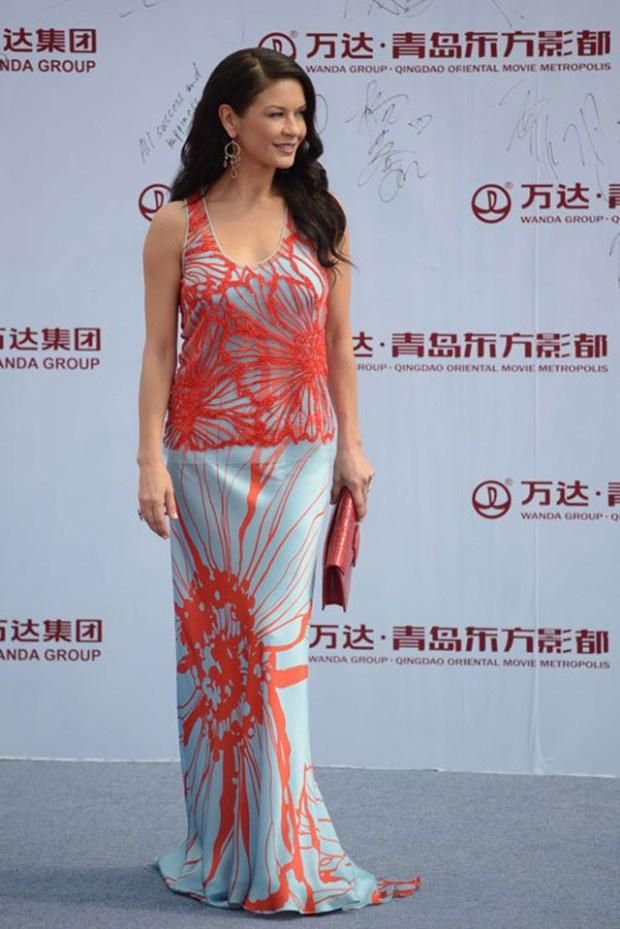 Qingdao Eastern Hollywood Wanda Event Catherine Zeta Jones