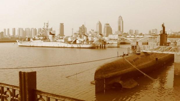Qingdao Photos Momo Xiao Qingdao Huiquan Bay Naval Museum