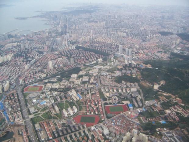 Qingdao Photos Da Wei Aerial City View Coast