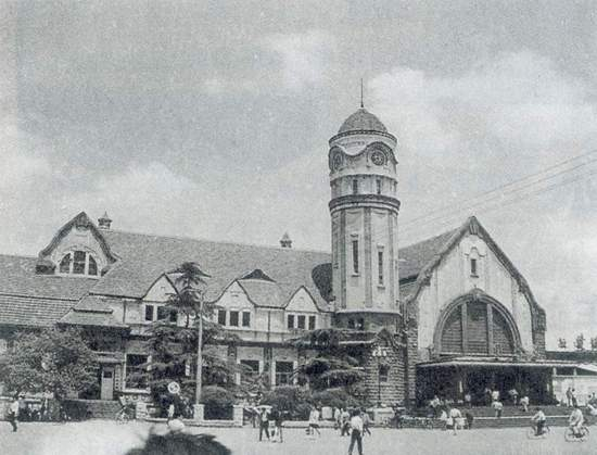 Old German Railway Station in Jinan