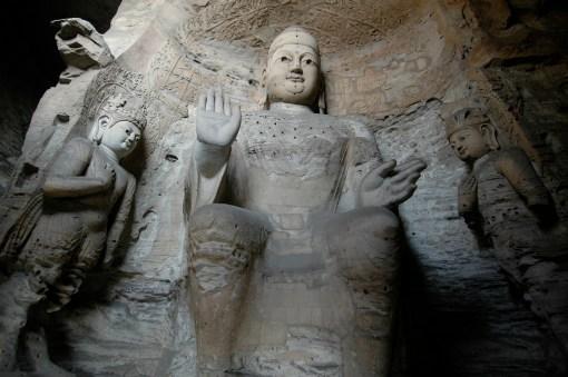 Yungang_Grottoes original Rita Willaert Flickr