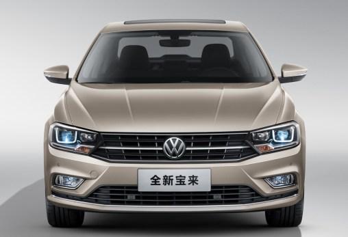 FAW VW Bora Car in China Qingdao Factory EV