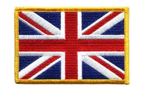 Custom Flag Embroidered Label Patch