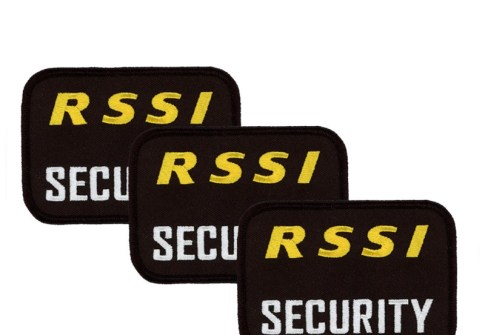 Factory Direct Manufacture Security Guard Uniform Badges Customized Garment Embroidered Patch For Clothing