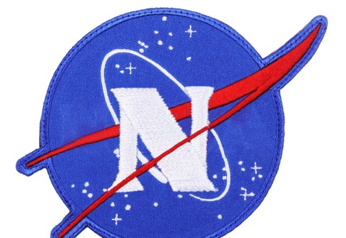 Nasa Aviation Embroidered Patch Custom Iron on Backing Embroidery Patches Silicone Rocket Space Eco-friendly Support Felt