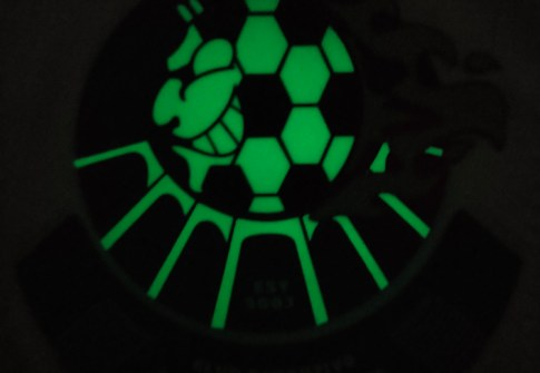 Factory Direct Custom 3d luminous silicone patches custom 3d rubber patch