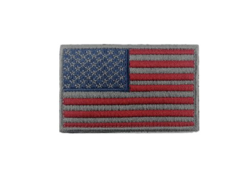 Embroidered Tactical USA Flag Patch For backpack hat cloth