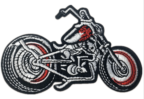 Custom Letterman Jacket Embroidered Motorcycle Patches Embroidery