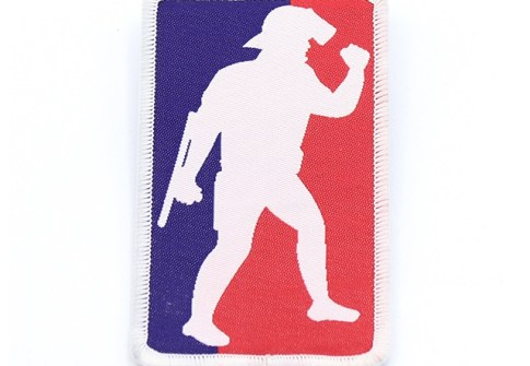 Wholesale China Iron on Custom Woven Police Patches