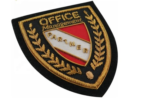 Custom Bullion Embroidery Patches