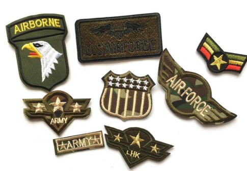 Embroidery Badge Army Camouflage Patch Accessory Military Patches
