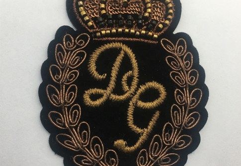 Trade Assurance Factory Price Custom Military Uniform Patch Us Army Embroidered Woven Patch Badge