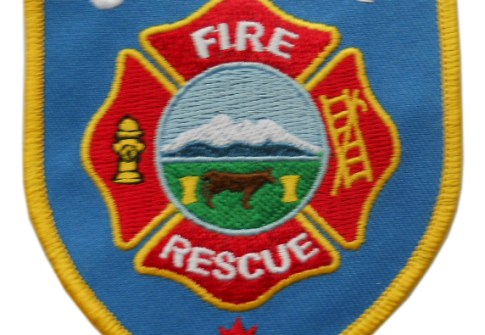 STAVELY Fire Department fire retardant Dept FD Rescue Patch