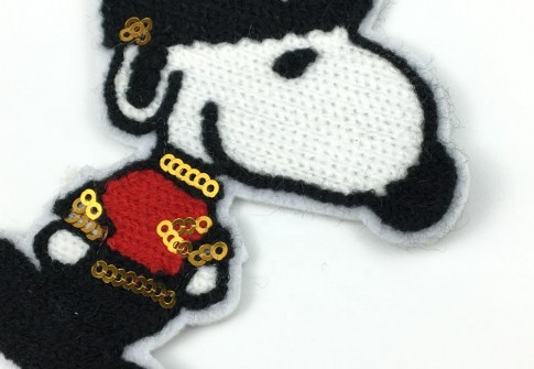 Wholesale Letters Custom Chenille Patches for clothing/jeans