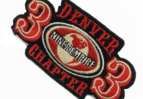 Wholesale Custom China 3d Embroidery Patches