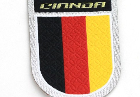 custom military navy epaulette shoulder mark embroidery iron on patches