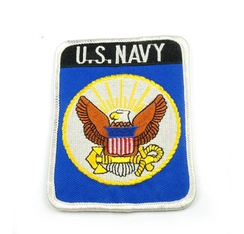 US navy embroidery arm patch for army clothes