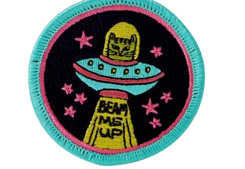 Heat Press Custom Badge Embroidery Patch,Iron On Patch For Clothing
