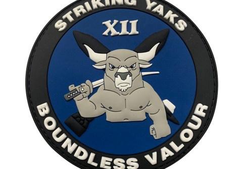 Custom badges pvc security military uniform patch clothing
