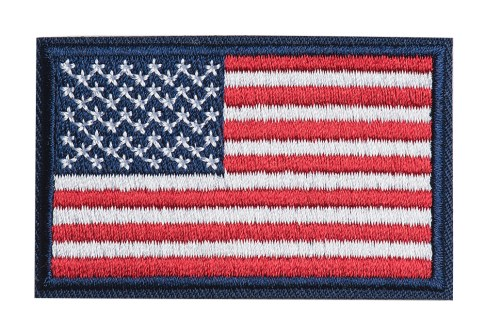 Custom embroidery badges embroidery patches embroidery flag patches country patches clothes label tag for apparel