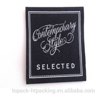 Wholesale Custom cheap damask woven label for woven labels clothing