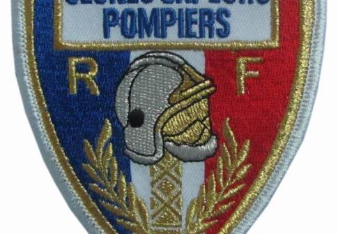 camion pompiers Ecusson embroidery uniform patch