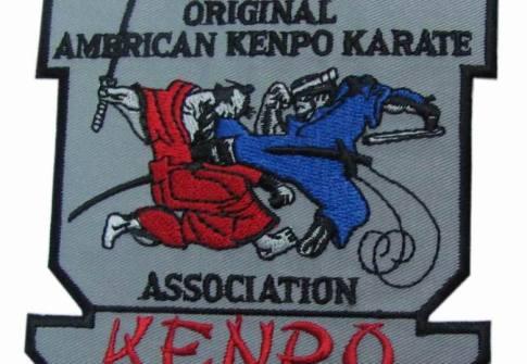 ORIGINAL AMERICAN KENPO KARATE PATCH