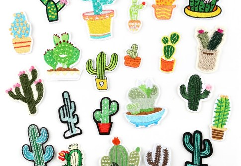 wholesale fast shipping apparel garment accessories custom embroidery patches for clothing applique embroidered label