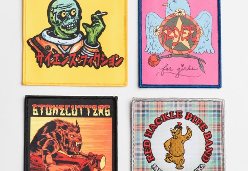 Wholesale patches transfer iron patch sublimation heat transfer printing embroidery