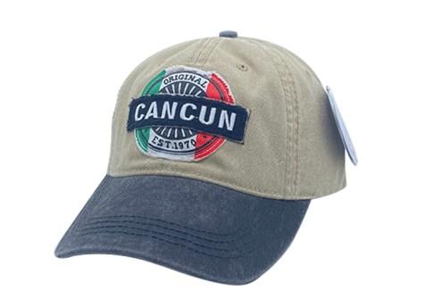 Fashion embroidery patch washed plain baseball cap custom logo