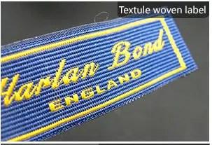 Textule woven label