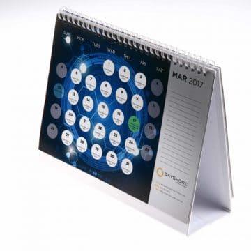 2017 Unique Desk Calendar accordion style with quotes