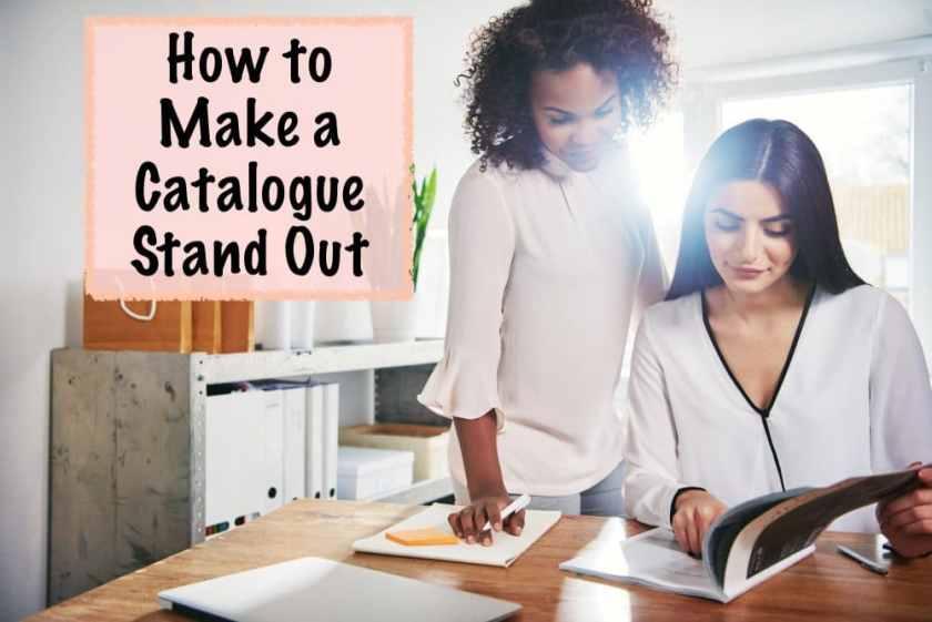how to make a catalogue