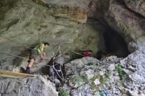 Accès à la grotte – Jour 1 – Tour du Marguareis – Juin 2016 – Trek, Rando, Italie