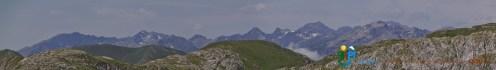 Panorama sur le Mercantour – Jour 4 – Tour du Marguareis – Juin 2016 – Trek, Rando, Italie