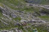 Sentier dans les lapiaz 3 – Jour 4 – Tour du Marguareis – Juin 2016 – Trek, Rando, Italie