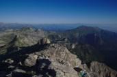 Vue vers le nord du sommet de la Punta Marguareis – Jour 5 – Tour du Marguareis – Juin 2016 – Trek, Rando, Italie