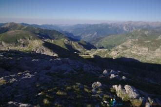 Vue vers le sud du sommet de la Punta Marguareis – Jour 5 – Tour du Marguareis – Juin 2016 – Trek, Rando, Italie