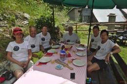 Prêts pour le festin final – Jour 5 – Tour du Marguareis – Juin 2016 – Trek, Rando, Italie