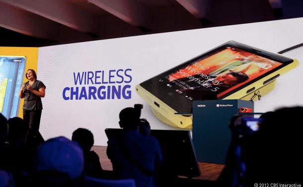 Nokia Lumia 920 Qi Wireless Charging