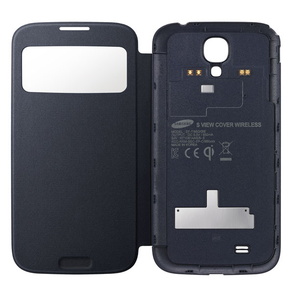 Official samsung galaxy s4 wireless charging s view flip covers samsung galaxy s4 wireless charging s view flip ccuart Image collections